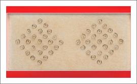Auricular 3.0mm c/ 50 unds