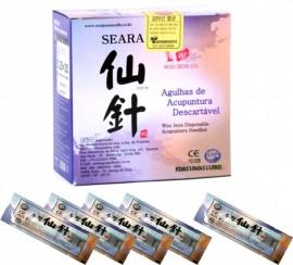 Agulha Woo Jeon Seara 0,25X50 Cx/ 1000 unids