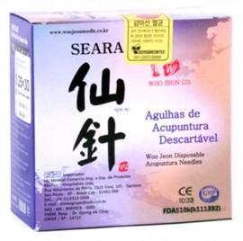 Agulha Woo Jeon Seara 0,20X15 C/ 100 unids