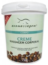 Creme Aromassagem - Massagem Corporal Café Verde 750G