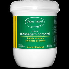Creme massagem Dágua Natural Bétula,Arnica e Salicilato de metila 650grs