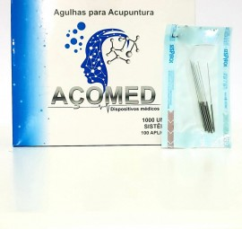 Agulha Acomed 0,25x25 Cx/ 1000 unids