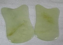 Gua Sha em Jade