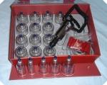 Ventosa Coreana Kit 19 copos c/ along e estim