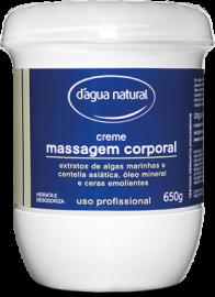 Creme para massagem D´Agua Natural c/Algas marinhas e Centella Asiatica 650 grs